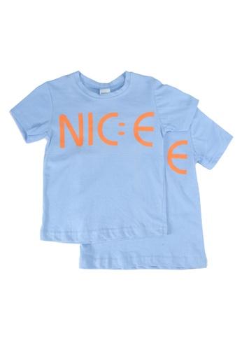 UniqTee blue Nice Crew Neck Tee 2-Pack FC650KAC4552DFGS_1