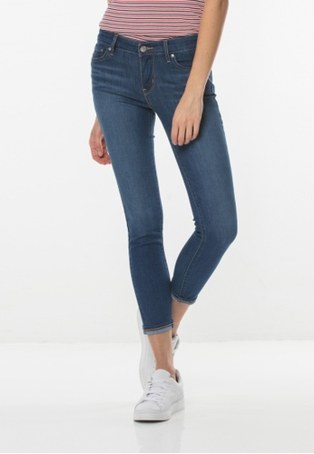 Levi's blue Levi's® 711 Skinny Ankle Jeans 08338AA58DEF27GS_1
