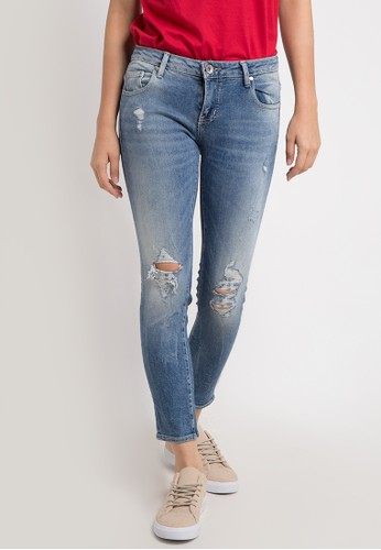 Logo Jeans blue and multi Skinny 81 Series 613DCAA3437AD5GS_1