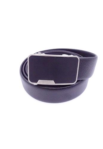Goldlion black Goldlion Men Auto-Lock Buckle Belt - Black B8070AC52D7C13GS_1