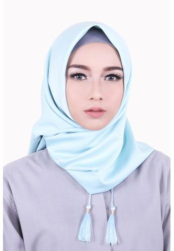 Zelena Aliza Hijab Square - Sky Blue