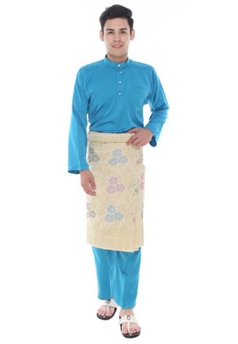 Amar Amran blue Baju Melayu Classic 1C12CAA684F1F2GS_1