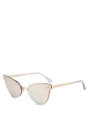 Quay Australia gold Lady Luck Sunglasses 66A93GL7902235GS_1