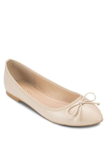 基本尖頭蝴蝶結平底鞋、 女鞋、 鞋ZALORA基本尖頭蝴蝶結平底鞋最新折價