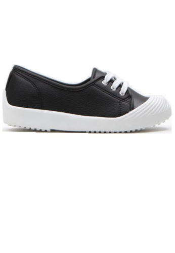 Crystal Korea Fashion black Korean Versatile Comfortable Flat Slip-Ons C707BSH87DA659GS_1