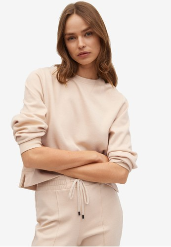 Mango brown Basic Sweatshirt B8052AA2201149GS_1