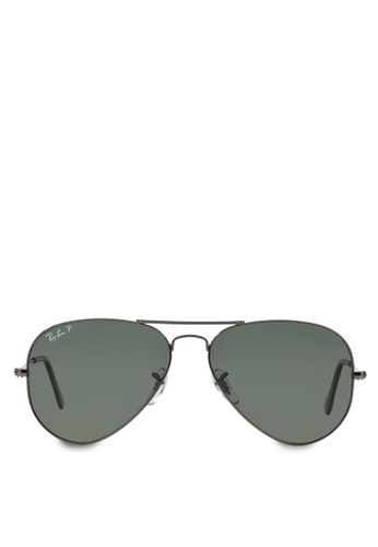 caaf879c7c Ray-Ban Aviator Large Metal RB3025 Polarized Sunglasses RA370GL44SADSG 1