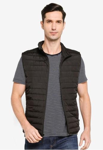 Gap black Lightweight Puffer Vest 50C5CAAD5CA4A2GS_1