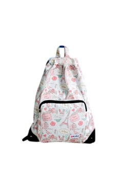 [IMPORTED] Graphically Happy Canvas Backpack