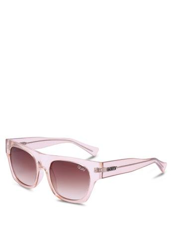 Quay Australia brown Something Extra Sunglasses C3D91GL3E55C3CGS_1