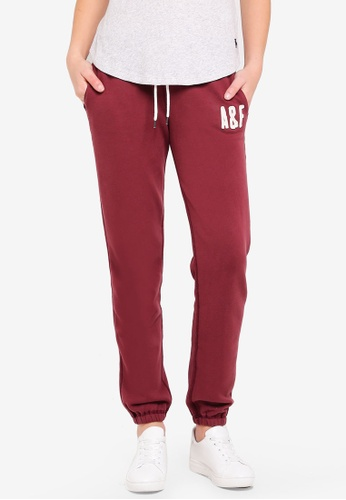 Abercrombie & Fitch red Long Life Pants A181FAAA647DFDGS_1