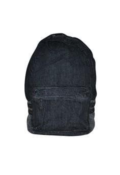 Black Denim Backpack