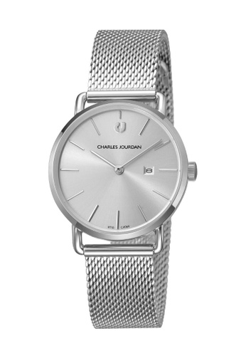Charles Jourdan silver Charles Jourdan Ladies Watch Elegance Quartz CJ1069-2312 1BB83ACFBAE331GS_1