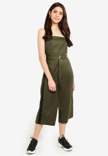 Factorie green Strapless Jumpsuit 2E09CAA9145A3AGS_1