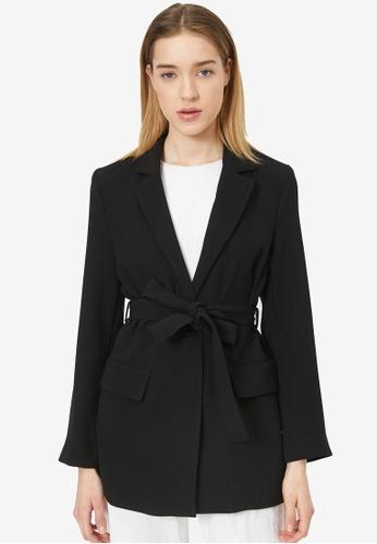 KOTON black Suit Jacket DCB39AA347EBA6GS_1