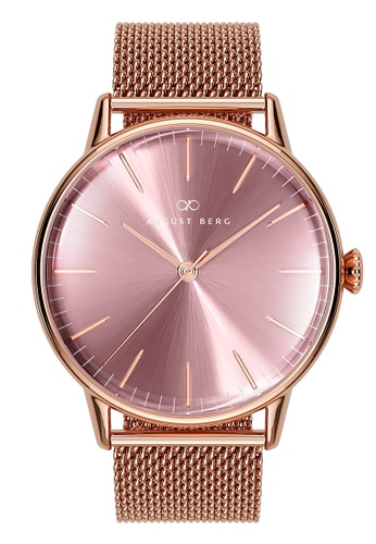 August Berg pink Serenity Ash & Orchid Rose Gold - Rose Gold Mesh 40MM 4113FAC7D781CEGS_1
