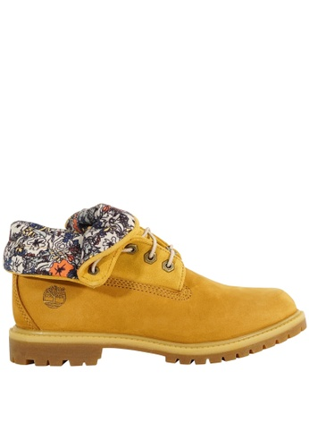 Timberland multi and brown Authentics Roll-Top TI324SH09EYSHK_1