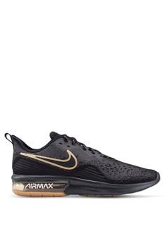 c1b191c857a82 Nike black Nike Air Max Sequent 4 Shoes 52D41SHA7A1840GS 1