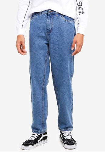 Factorie blue Straight Leg Denim Jeans 4CCA2AA67FEA2AGS_1