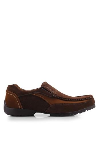 Louis Cuppers brown Casual Slip Ons B5168SH21319CCGS_1