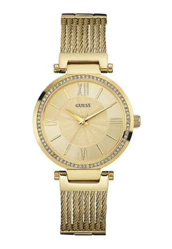 Guess Watch gold Guess Jam Tangan Wanita - Gold - Stainless Steel - W0638L2 EA7ECAC25EB198GS_1