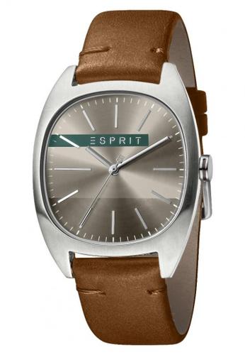 Esprit brown Esprit Men Infinity Grey Brown ES1G038L0045 5B317ACFC09ECEGS_1