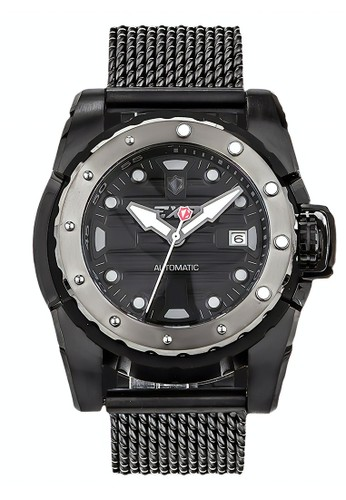 Expedition black Exp Jam Tangan Pria - Black Grey - Stainless Steel - 301 MABEPBA E0435AC4055788GS_1