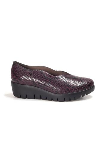 Shu Talk 紅色 WONDERS 型格舒適厚底鞋 31ABDSH9B77914GS_1