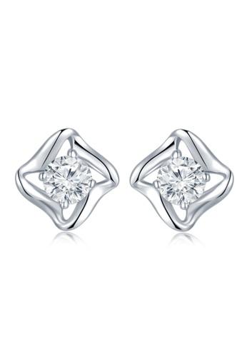 buy mabelle 18k 750 white gold star diamond earrings zalora hk  mabelle silver 18k 750 white gold star diamond earrings 650e2ac5a02fe9gs 1