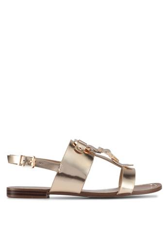 ALDO gold Afiarien Flat Sandals 2DB86SH41E31A4GS_1