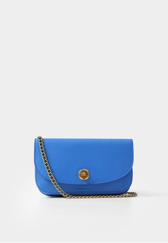 Rabeanco blue RABEANCO Chain Clutch - Smooth Blue 15536AC9EB819DGS_1