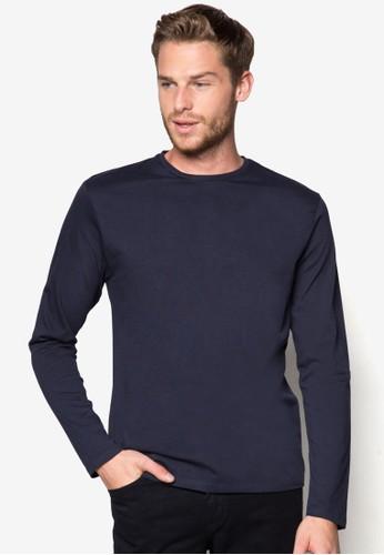 簡esprit門市約圓領長袖衫, 服飾, T恤