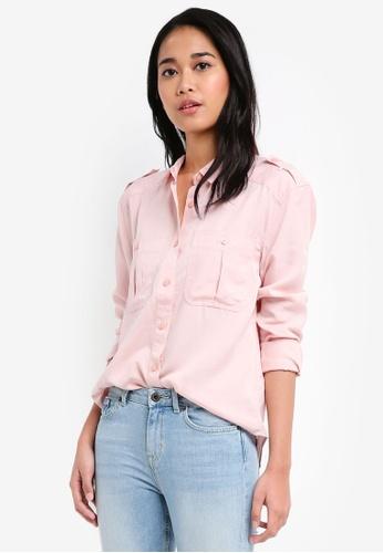 Jack Wills pink Raleigh  Utility Shirt D1E34AA0316F21GS_1