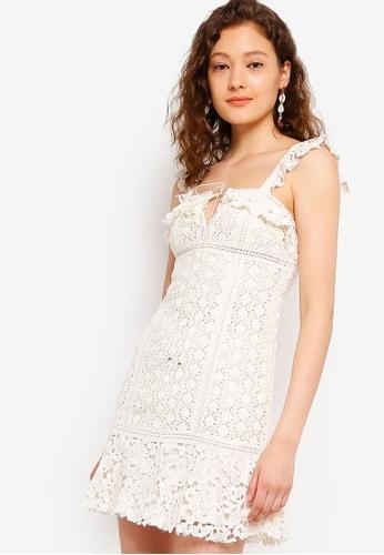 f5cce75298191 Buy Free People Cross My Heart Mini Dress Online on ZALORA Singapore
