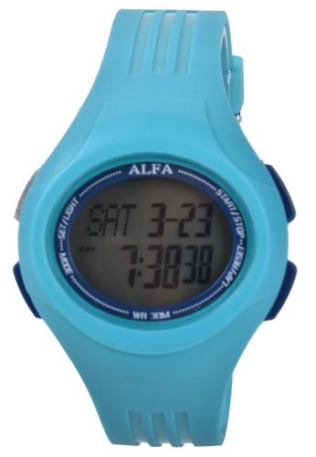 Digitec blue Alfa - Jam Tangan Wanita - Blue - Resin Strap - 330007-H 297FCAC65002D3GS_1