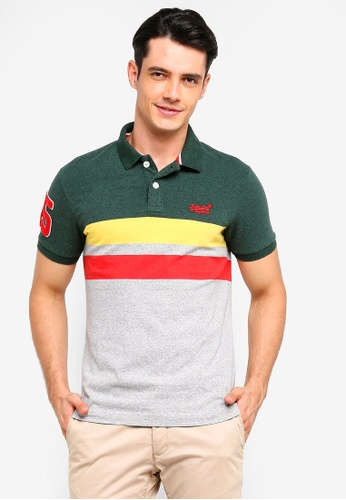 Superdry 綠色 短袖POLO衫 FC02EAA1C08249GS_1