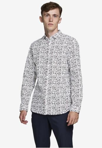 Jack & Jones multi Ckpool Long Sleeve Shirt E5F59AACFEA670GS_1