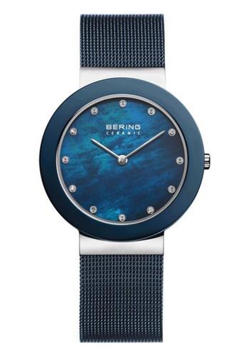 Bering blue Classic 11435-387 Mother Of Pearl 35 mm Women's Watch 93761AC1F9ADA7GS_1