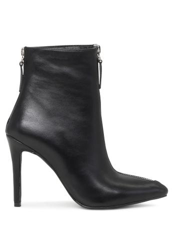 London Rag black Black Zipper Boots SH1705 F5C56SHF41C73DGS_1