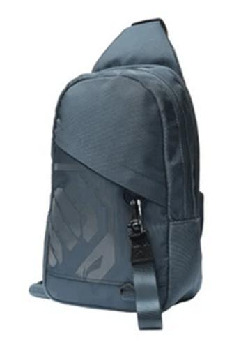 Li-Ning grey LI-NING BADFIVE SHOULDER BAG - GREY BLUE 364DBAC8A9F615GS_1