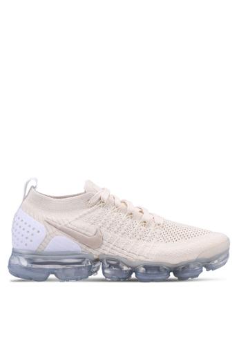 Nike beige W Nike Air Vapormax Flyknit 2 Shoes 1EB4BSH1742850GS_1