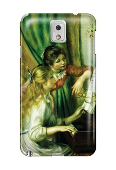 Girls at the Piano Matte Hard Case for Samsung Galaxy Note 3