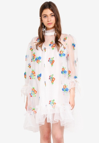 6c6ec37ebe7 Shop Sister Jane Atacama Organza Dress Online on ZALORA Philippines