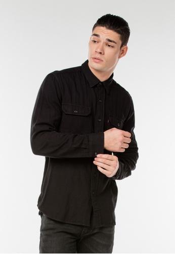 Levi's black Classic Worker Shirt ACAE8AA36E39F3GS_1