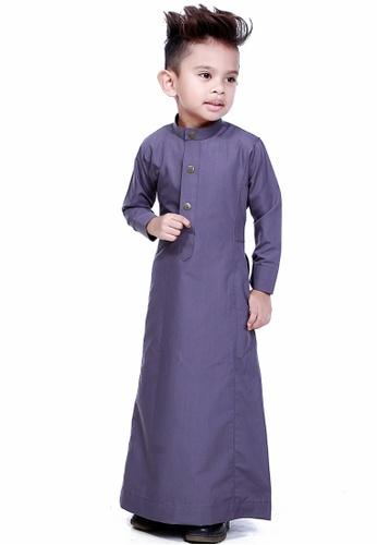 Amar Amran grey Jubah Aulad For Kids AM362KA03TOEMY_1