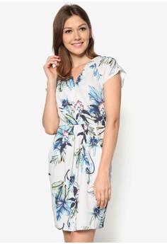 Floral Cross Over Dress