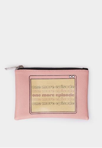 Penshoppe pink Coin Purse C29A7AC5EFE460GS_1