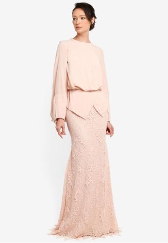 NH by NURITA HARITH pink Theresa Kurung Modern EF2B4AA2696B0DGS_1