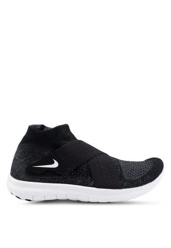 Nike black W Nike Free Rn Motion Fk 2017 Shoes 9BA30SH7B36BDEGS_1