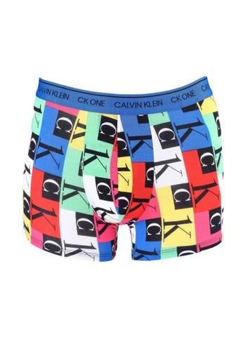 Calvin Klein multi Logo Trunks - Calvin Klein Underwear 606B4US5CD990AGS_1